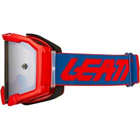 Leatt Velocity 4.5 Iriz Anti Fog Goggles, red/platinum